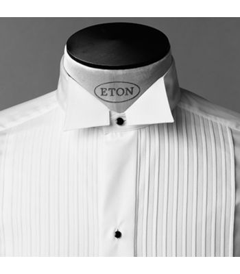 Traditional Wing Collar Pleated (Plisse)