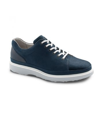 HUBBARD FAST - NAVY NUBUCK/ LIGHT GREY SOLE