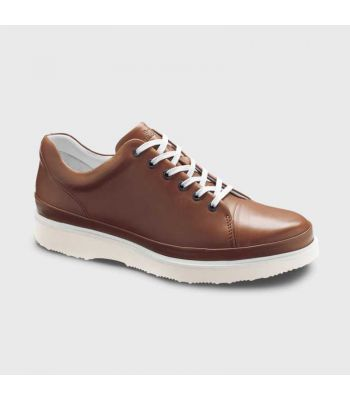 HUBBARD FAST - BURNISHED TAN LEATHER/ WHITE SOLE