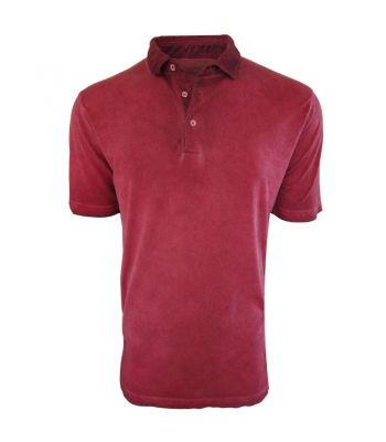 Super Soft Pima Cotton Brick Red Polo